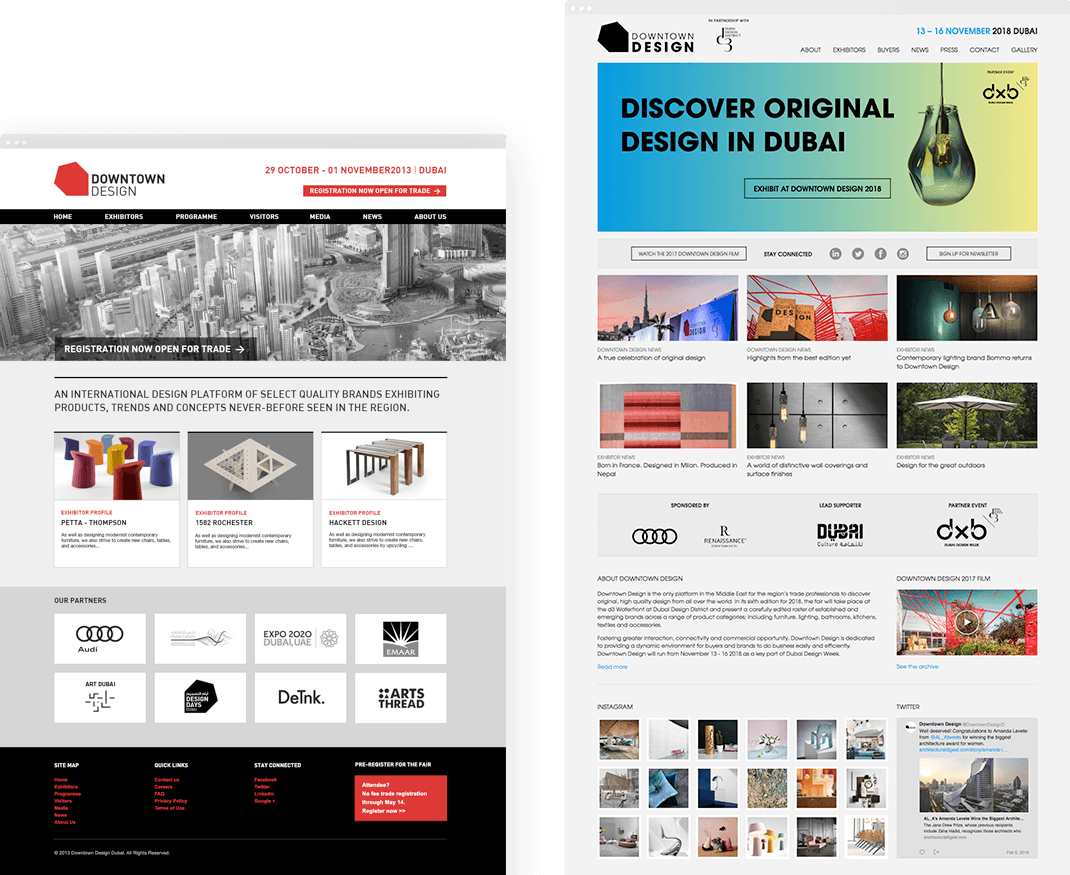 Downtown Design Websites
