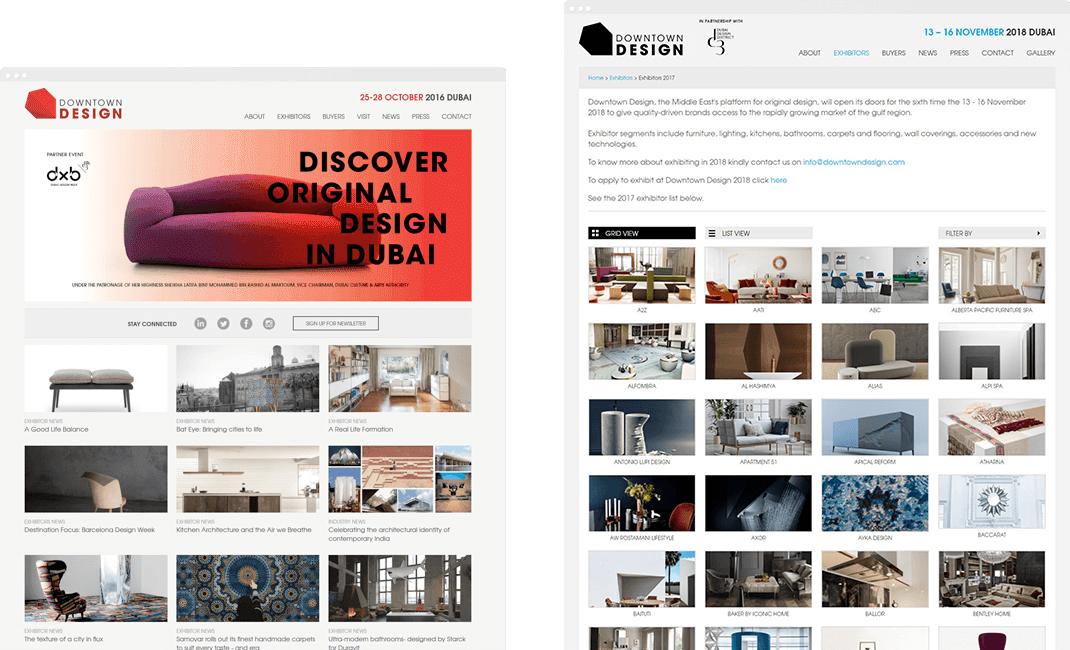 Downtowndesign Website